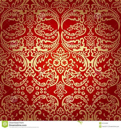 vintage floral pattern vector background damask vintage floral seamless pattern background stock