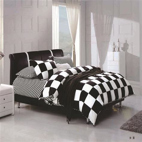 bedroom supplies unique design black and white checkered bedroom supplies