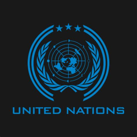 United Nations Nation 46 by The Expanse United Nations Logo Clean The Expanse