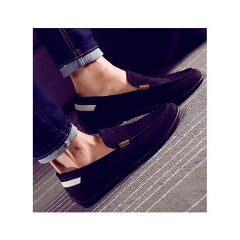 Exclusive Sepatu Kasual Pria Slip On Model Baru Blackkelly Lsm 899 Pal jual sepatu slip on pria