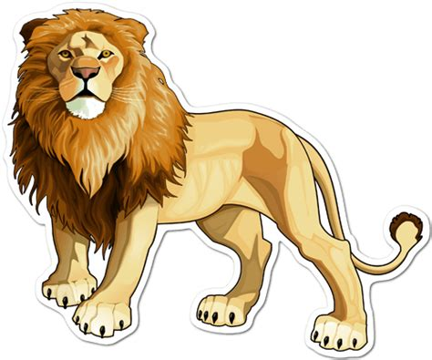 imagenes de leones a color vinilos decorativos del rey le 243 n 250 nicos en teleadhesivo