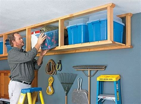 Overhead Garage Storage Ideas Diy Best 25 Overhead Garage Storage Ideas On