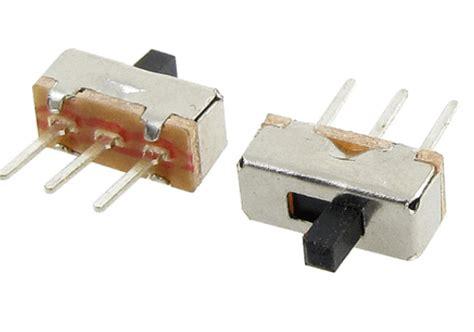 Switch Saklar Mini Pintu Sliding 2 position spdt 1p2t 3 pin pcb panel mini vertical slide