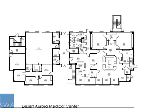 ambulatory surgery center floor plans desert aurora medical center saunders wiant oc