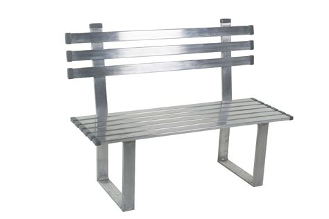 aluminium benches 4ft aluminum bench custom options marine outdoor
