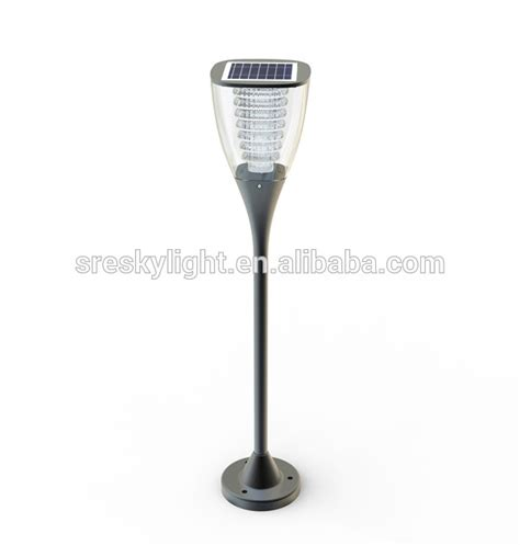 white solar l post light warm white lighting solar post cap light solar stake light