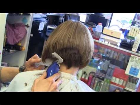 woman cuts hair with fork and clippers clipper haircuts for women pictures short hairstyle 2013