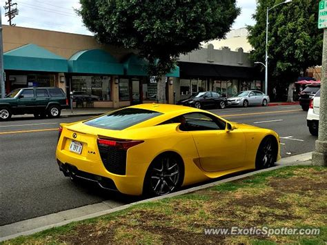 lexus lfa spotted in beverly california on 10 04