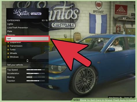 Gta 6 Autos Tuning by How To Sell Cars In Grand Theft Auto 5 6 Steps