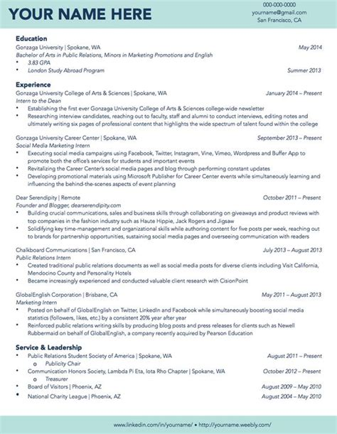 Resume Exles For Students In College Gonzaga Sle Student R 233 Sum 233 R 233 Sum 233 Sles Student And Gonzaga