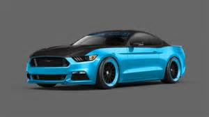 pair of modified 2015 ford mustangs revealed ahead of 2014