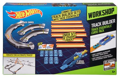 Track Builder Hotwheels Pack A wheels 174 track builder track essentials curve pack shop wheels cars trucks race