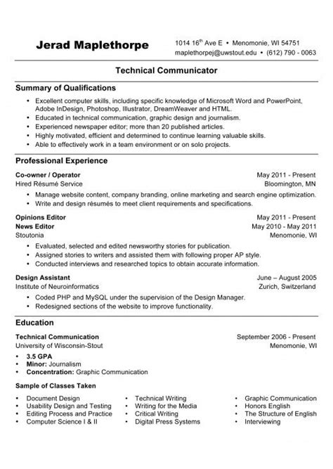 resume writing style r 233 sum 233 writing references available upon request