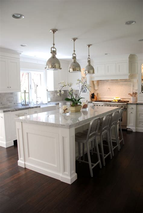 White Marble Kitchen Island The Granite Gurus Carrara Marble White Quartzite Kitchen From Mgs By Design