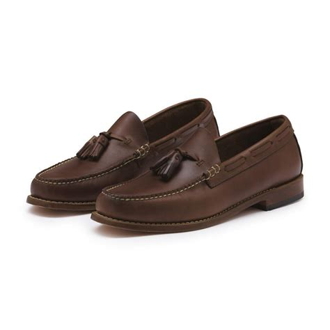 g h bass co loafers g h bass co eddington loafer in brown lyst