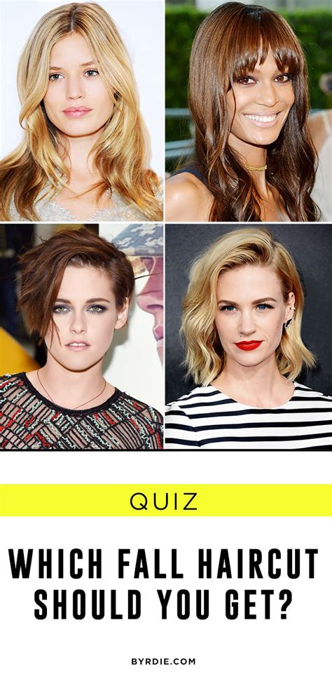 What Haircut Should I Wear Quiz | quiz to chop or not to chop which fall haircut should you