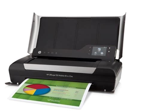 Priinter Portable Hp Mobile All In One Printer Officejet Oj 250 Resmi hp officejet 150 mobile printer portable printers dubai abu dhabi uae
