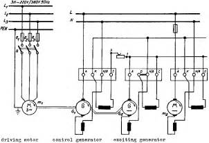 ward leonard low loss speedadjustment at the direct current motor general wiringdiagram