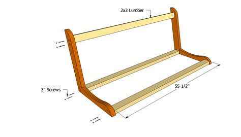 wooden swing bench plans free porch swing plans free outdoor plans diy shed