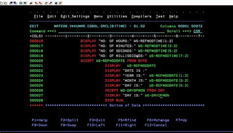 cobol sections image gallery mainframe cobol