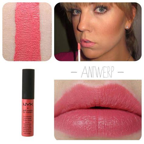 Lipstik Nyx Warna Stockholm nyx matte dupes nyx soft matte lip antwerp