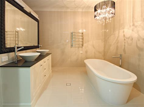 modern bathroom design with freestanding bath using marble bathroom photo 118729