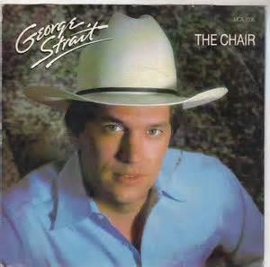 george strait the chair mca 7 quot single vinyl 45 rpm