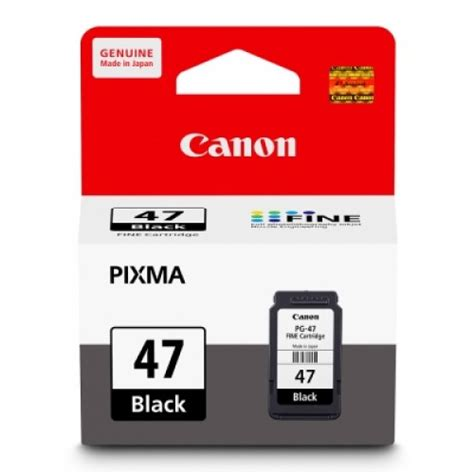 Canon Pg47 Pg 47 Pg 47 by Cartridge Canon Pg 47 Black Ink