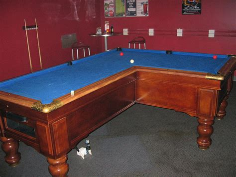 Pool Table L by 10 Creatively Designed Pool Tables Creativeoverflow