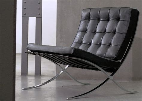 Barcelona Chair Comfortable by Bauhaus Furniture A Blend Of Comfort And Luxury
