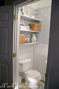 Bathroom Shelves Above Toilet by Our Diy Bathroom Creative Storage Solutions Aol Real