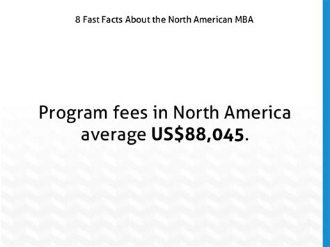 slideshow  fast facts  north american mba programs