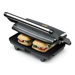 Sandwich Toaster Press 2 Slice Sandwich Toaster Amp Panini Maker Vst049 Breville