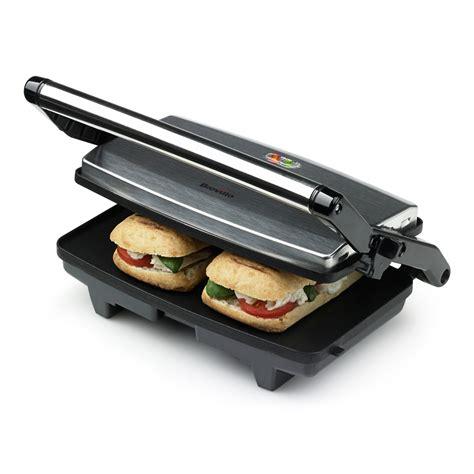 Sandwich Toaster Machine 2 Slice Sandwich Toaster Amp Panini Maker Vst049 Breville
