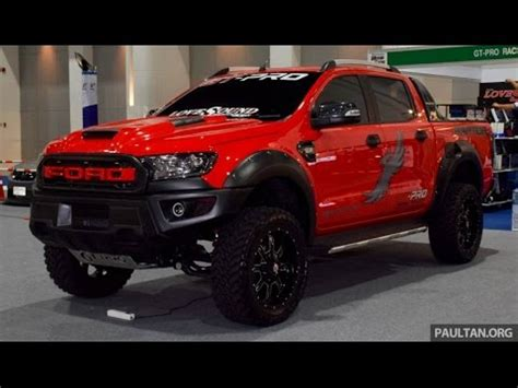 ford ranger wildtrak raptor with akrapovic exhaust youtube