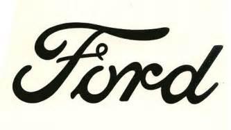 Ford Script Ford Script Decal Vinyl Logo Eaperkins Vinyl Graphics