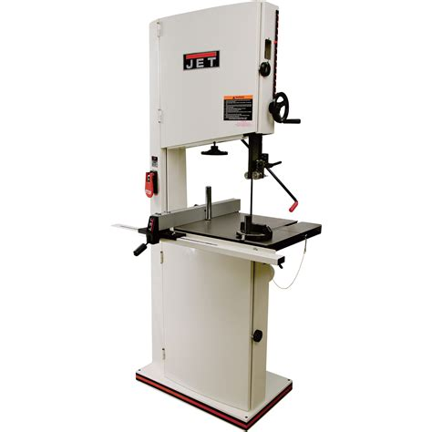 commercial woodworking tools jet band saw 18in with tension model jwbs 18qt