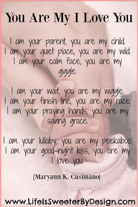 poem for child a beautiful poem that describes a parent s for their
