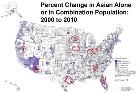 american census map demographics