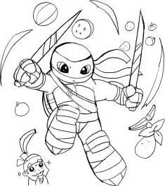 leo fruit ninja expert wolffangcomics deviantart