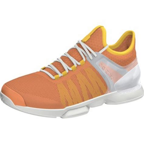 adidas s adizero ubersonic 2 tennis shoe glow orange