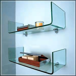 bathroom glass shelves the right spots to mount the gorgeous glass bathroom