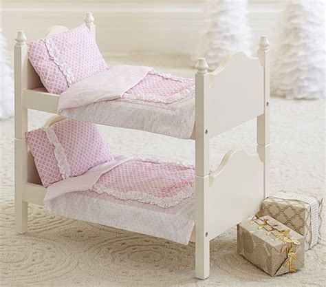 pottery barn kids bed doll bunk bed bedding pottery barn kids