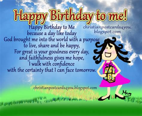 Happy Birthday To My Self Quotes Christian Birthday Quotes For Myself Google Search