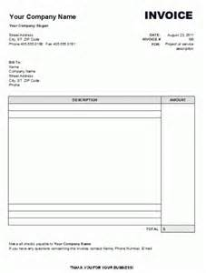 blank invoices pdf | example good resume template, Invoice templates