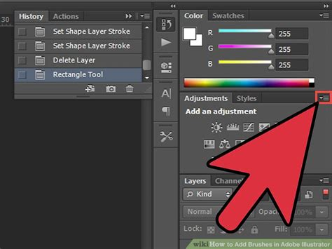 adobe illustrator how to change pattern color how to add brushes in adobe illustrator 10 steps with