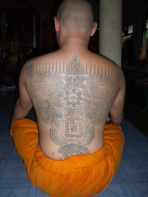 buddhist monk tattoos designs sak yant and buddhist tattoos in thailand