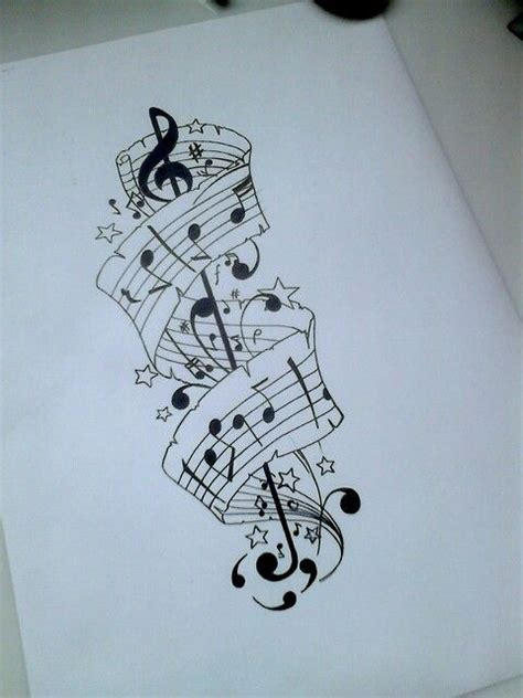 sheet music tattoo designs best 25 sleeve tattoos ideas on