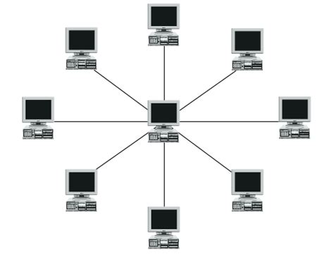 network layout star network topologies