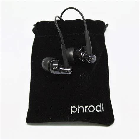 Earphone Phrodi 007p With Microphone Pod 007p Black phrodi 007p earphone dengan mic pod 007p black jakartanotebook